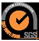 ISO9001 Compliant Company